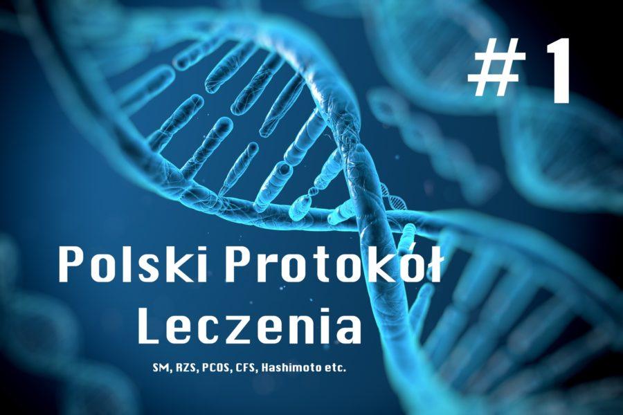 #1 Protokół leczenia zakażeń bakteriami i wirusami wewnątrzkomórkowymi (protokół Polski). Metoda leczenia SM, CFS, PCOS, RZS, etc.